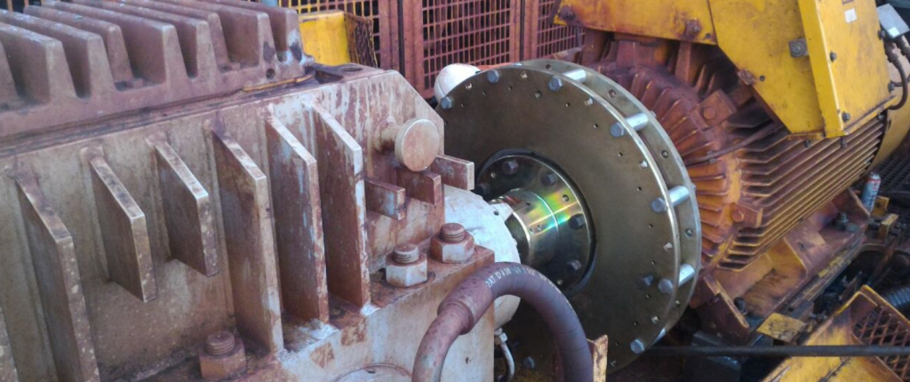 Acoplamento Magnético Transportador de Correia